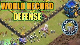 Download WORLD RECORD DEFENSE IN CLASH OF CLANS Video