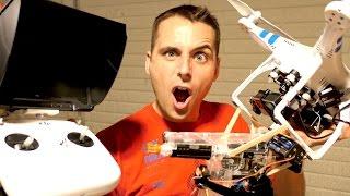 Download DRONE GUN! Aerial Assault Weapon went a little CRAZY Video