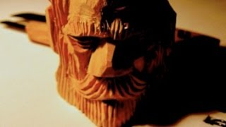 Download 30 minute wood spirit carving Full How to carve a Face Video