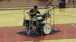 Download Number One Drum Solo - The Best Ever! CHS 2008 by RAC Video