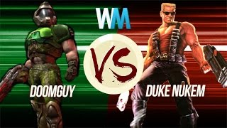 Download Doomguy VS Duke Nukem: Who's More Badass Video