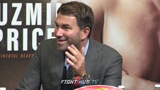 Download EDDIE HEARN RAGS ON TYSON FURY! ″HES THE MOST UNENTERTAINING FIGHTER IVE EVER SEEN! Video