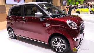 Download 2016 Daihatsu Cast Style - Exterior and Interior Walkaround - 2015 Tokyo Motor Show Video