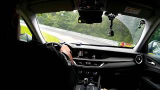 Download Alfa Romeo Stelvio - Nurburgring - rain drift crash - 12.08.2017 Video
