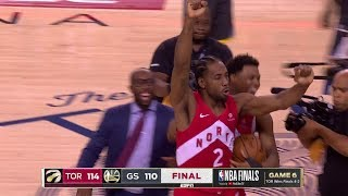 Download Final Seconds of 2019 NBA Finals Game 6 | Toronto Celebration | Raptors vs Warriors Video