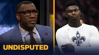 Download Shannon Sharpe wasn't impressed by Zion's performance in 2nd preseason game | NBA | UNDISPUTED Video