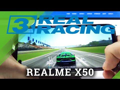 Real Racing 3 on REALME X50 – Check FPS