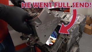 Download CLEETUS MCFARLAND'S 7 SECOND ENGINE TEAR DOWN! Video
