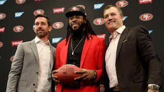 Download Richard Sherman on joining the 49ers, negotiating his own deal and safety Eric Reid Video