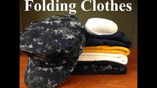 Download How To Fold Clothes In The Navy Video