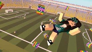 Download Minecraft - FUTEBOL JOGOS VORAZES - LUCKY BLOCK MOD - MINI-GAME COM MODS Video