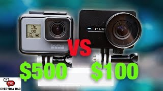 Download YI LITE the Cheapest Stabilized Action Camera! Compared to the new GoPro Hero 6! [4K] Video
