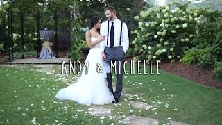 Download Andy & Michelle   A Backyard Wedding Video