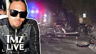 Download Chris Brown's Lambo Totaled In Beverly Hills | TMZ Live Video