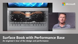 Download The new Surface Book with Performance Base, an engineer's guided tour Video