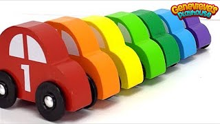 Download Best Learning Video for Kids: Learn Colors Sorting Car Preschool Toys! Genevieve Joins the Fun Play! Video