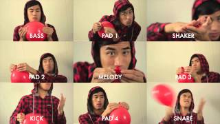 Download 99 Red Balloons - played with red balloons. Video