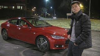 Download Bjørn's Tesla Model S #1: Oslo - Trondheim Norwegian winter driving Video