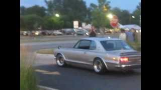 Download 1971 Nissan ″Hakosuka″ Skyline GTR on Woodward! Video