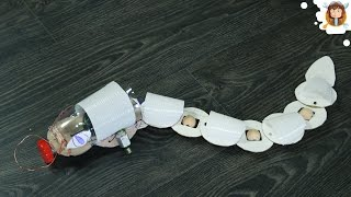 Download How to make a Snake Robot - Obstacle Avoiding Robot Video