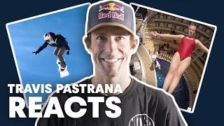 Download Travis Pastrana Reacts To Top Red Bull Videos Video