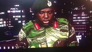 Download Zimbabwe military coup address (FULL) Video