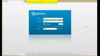 Download Zimbra 8 Demo Collaboration Suite Video