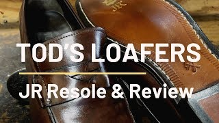Download Tod's Loafers | Restoration and Review Video