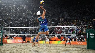 Download TOP 20 Crazy Actions Beach Volleyball | 3rd Meter Spike | Best Block | Best Dig | Best Defense Video