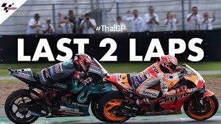 Download The Champ vs the rookie, their last 2 laps of the 2019 #ThaiGP! Video
