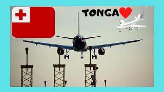 Download LANDING in beautiful TONGA (views of TONGATAPU ISLAND), Pacific Ocean Video