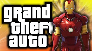 Download GTA 5: Iron Man in GTA! - (GTA 5 Mods Funny Moments) Video