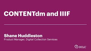 Download CONTENTdm and IIIF Video