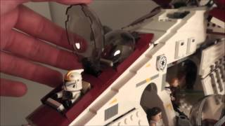 Download [HD]Republic Gunship- 75021- Lego Star Wars Review[German/Deutsch] Video