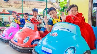 Download Kids Go To School | Chuns With Best Friends Play In Fairy Garden The Children's City Toys Video