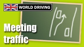 Download Meeting traffic driving lesson - Clutch control meeting traffic Video