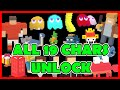 Download CROSSY ROAD All 19 Secret Characters Unlock | NEW Pac-Man 256 Update Mystery Ghosts: Inky & Co Video