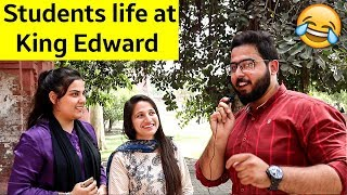Download Life at King Edward Medical Univerisity | Asking Funny questions to Girls in Pakistan KEMU Lahore Video