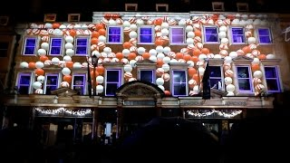 Download Christmas Video Mapping - Jolly's Department Store - Bath UK Xmas Lights Turn On Video
