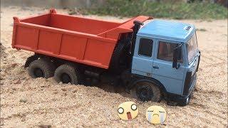 Download Maz Dump Truck 1/43 RC Conversion (Ground Running) Video