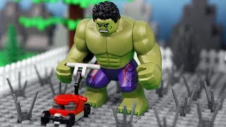 Download Lego Hulk Prank Fail - Super Heroes Stop Motion Animation Video