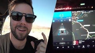 Download Tesla Model 3 Autopilot First Look - 500 Mile Road Trip Video