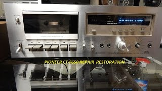 Download PIONEER CT-F650 REPAIR RESTORATION Video