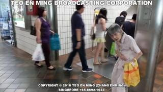 Download Please Help This Poor Old Lady Begging at Toa Payoh MRT Station on 21 May 2016 Sat Video