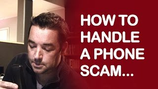 Download HOW TO HANDLE A PHONE SCAM Video