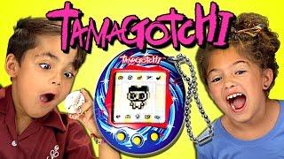 Download KIDS REACT TO TAMAGOTCHI (RETRO TOYS) Video