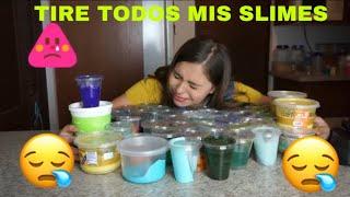 Download TIRÉ A LA BASURA TODOS MIS SLIME / Michelle Almaguer Video