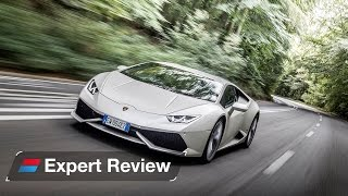 Download Lamborghini Huracan expert car review Video