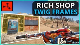 Download RICH SHOP Owner Forgot To UPGRADE His FRAMES!! Rust Solo Survival Gameplay Video