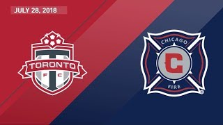 Download HIGHLIGHTS: Toronto FC vs. Chicago Fire   July 28, 2018 Video